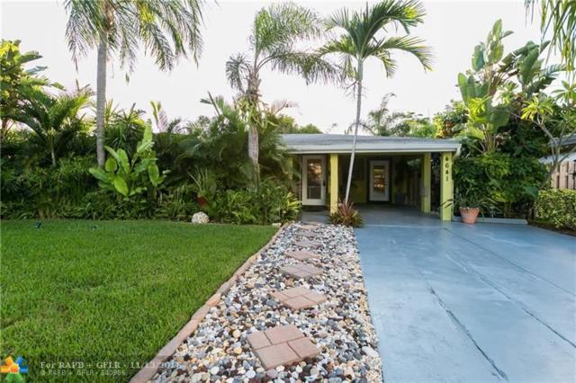 4641 NE 2nd Ave, Oakland Park, FL 33334 (MLS #F10145672) :: Green Realty Properties