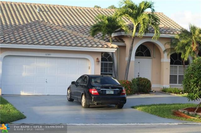 12341 SW 1st St, Coral Springs, FL 33071 (MLS #F10146065) :: Green Realty Properties