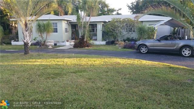 2718 Jackson St, Hollywood, FL 33020 (MLS #F10146480) :: Green Realty Properties