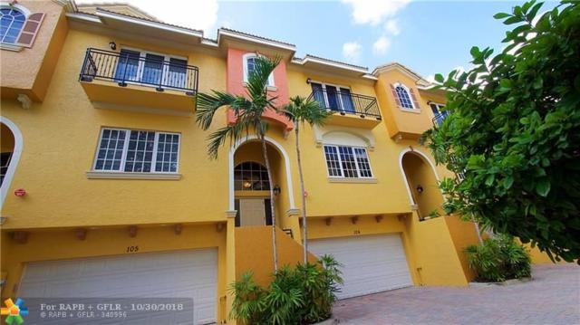 500 SE 7th St #104, Fort Lauderdale, FL 33301 (MLS #F10146546) :: Green Realty Properties