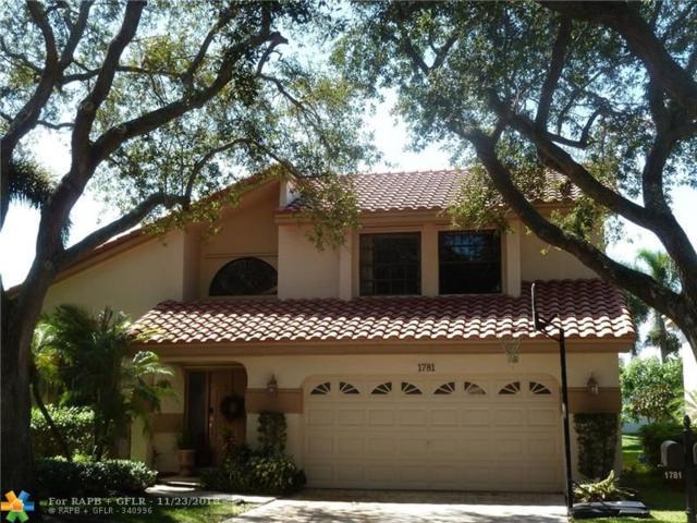1781 NW 104 AV, Plantation, FL 33322 (MLS #F10147154) :: Green Realty Properties