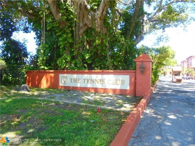 680 Tennis Club Dr #110, Fort Lauderdale, FL 33311 (MLS #F10148156) :: Green Realty Properties