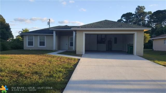 1542 SW Tiskilwa Ave, Port Saint Lucie, FL 34953 (MLS #F10148666) :: Green Realty Properties
