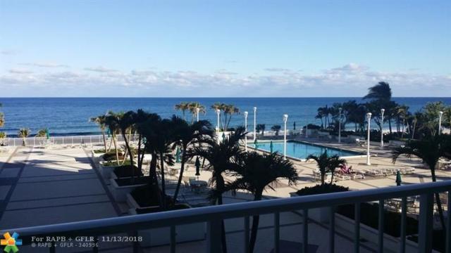 1620 S Ocean Blvd 4K, Lauderdale By The Sea, FL 33062 (MLS #F10149445) :: Green Realty Properties