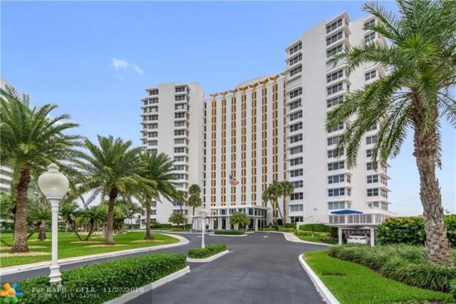 3900 N Ocean Dr 16C, Lauderdale By The Sea, FL 33308 (MLS #F10149649) :: Green Realty Properties