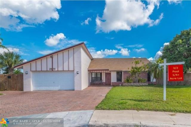 2879 NW 52nd Ter, Margate, FL 33063 (MLS #F10150914) :: Green Realty Properties