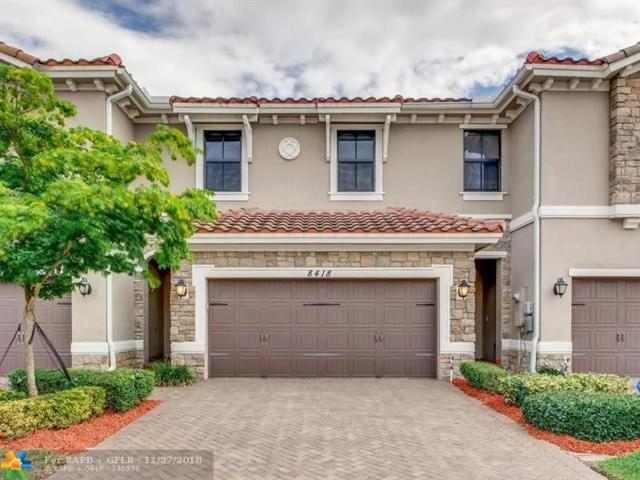 8418 Lakeview Trl #3614, Parkland, FL 33076 (MLS #F10150933) :: Green Realty Properties
