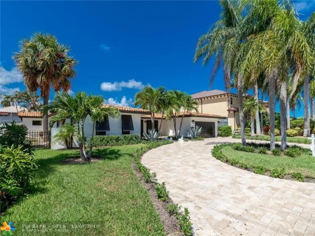 3901 NE 26th Ave, Lighthouse Point, FL 33064 (MLS #F10151380) :: Green Realty Properties