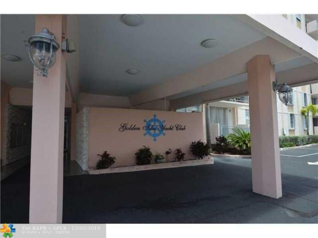 430 Golden Isles Drive #201, Hallandale, FL 33309 (MLS #F10151976) :: Green Realty Properties