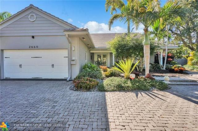 2660 NE 37th Dr, Fort Lauderdale, FL 33308 (MLS #F10152001) :: The O'Flaherty Team
