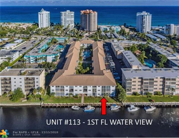 1461 S Ocean Blvd #113, Lauderdale By The Sea, FL 33062 (MLS #F10152314) :: Castelli Real Estate Services