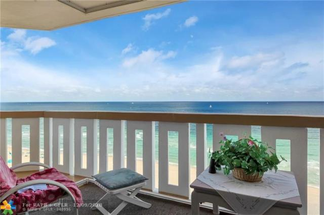 1012 N Ocean Blvd #1601, Pompano Beach, FL 33062 (MLS #F10152643) :: Green Realty Properties