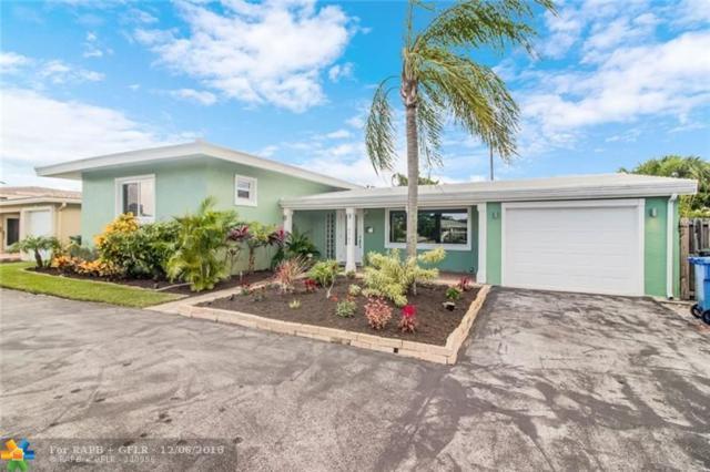 4781 NE 4TH AV, Oakland Park, FL 33334 (MLS #F10152953) :: Green Realty Properties