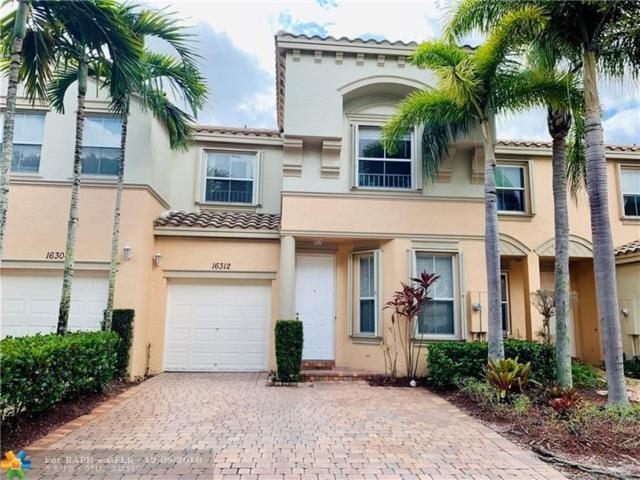 16312 SW 48th Street, Miramar, FL 33027 (MLS #F10153255) :: Green Realty Properties