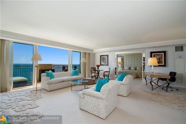 601 N Fort Lauderdale Beach Blvd #1401, Fort Lauderdale, FL 33304 (MLS #F10154615) :: The O'Flaherty Team