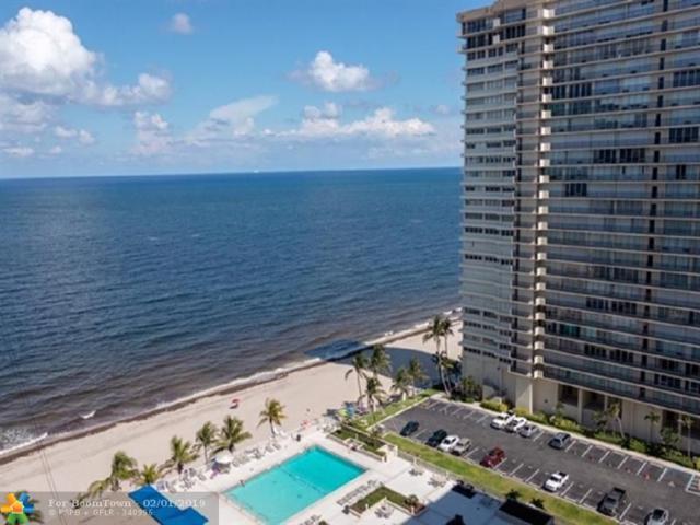 4300 N Ocean Blvd 17F, Fort Lauderdale, FL 33308 (MLS #F10157740) :: Laurie Finkelstein Reader Team