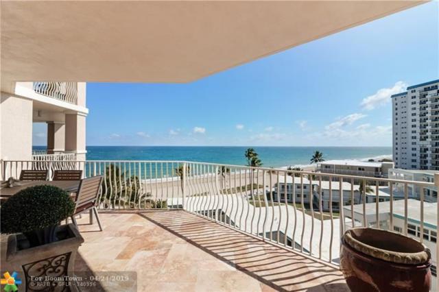 1460 S Ocean Blvd #602, Pompano Beach, FL 33062 (MLS #F10163824) :: Laurie Finkelstein Reader Team
