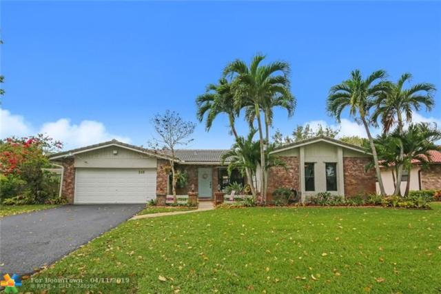 268 NW 89th Ave, Coral Springs, FL 33071 (MLS #F10170060) :: Green Realty Properties