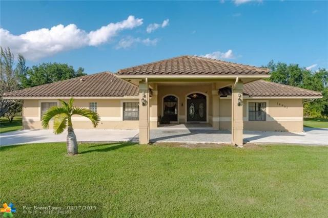 18951 SW 57th Ct, Southwest Ranches, FL 33332 (MLS #F10172108) :: United Realty Group