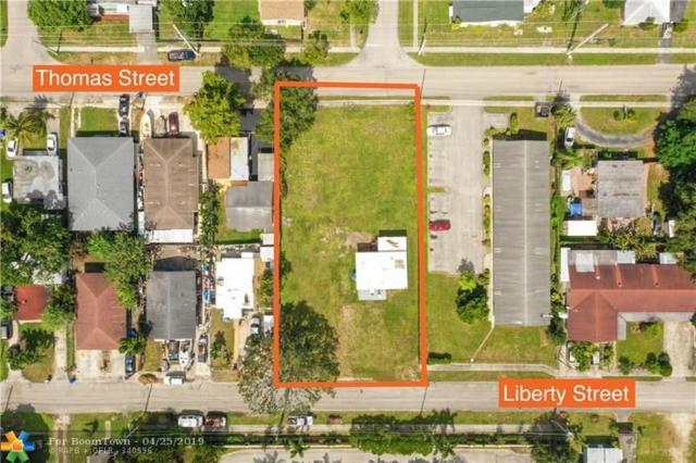 5843 Liberty St, Hollywood, FL 33021 (MLS #F10172946) :: United Realty Group