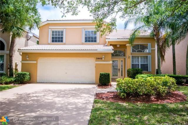 5445 NW 106th Dr, Coral Springs, FL 33076 (MLS #F10173745) :: The Paiz Group