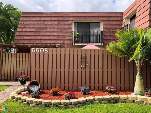 5508 NW 59th Pl #5508, Tamarac, FL 33319 (MLS #F10173901) :: Berkshire Hathaway HomeServices EWM Realty