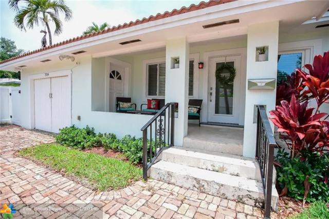 709 SE 7th St, Fort Lauderdale, FL 33301 (MLS #F10174495) :: The Howland Group