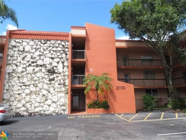 3110 Holiday Springs Blvd #108, Margate, FL 33063 (MLS #F10176807) :: Berkshire Hathaway HomeServices EWM Realty