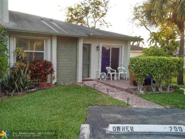 799 Crystal Lake Drive #799, Deerfield Beach, FL 33064 (MLS #F10179098) :: Green Realty Properties