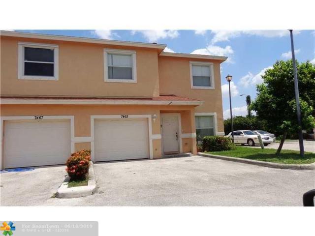 7465 Tam Oshanter Blvd #7465, North Lauderdale, FL 33068 (MLS #F10180216) :: The O'Flaherty Team