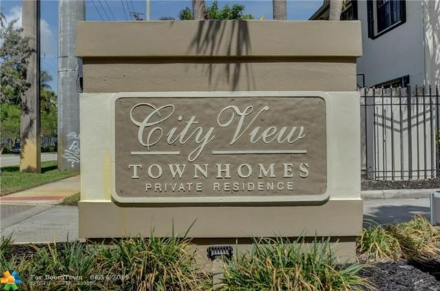 396 City View Dr #396, Fort Lauderdale, FL 33311 (MLS #F10180244) :: The O'Flaherty Team
