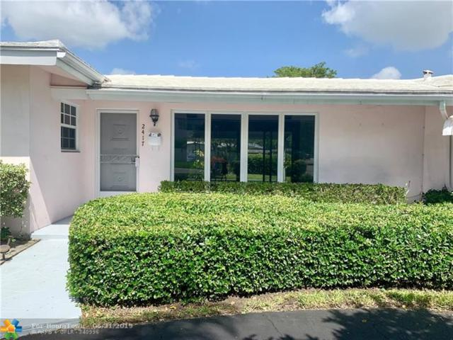 2417 Bayview Dr, Fort Lauderdale, FL 33305 (MLS #F10180622) :: The O'Flaherty Team