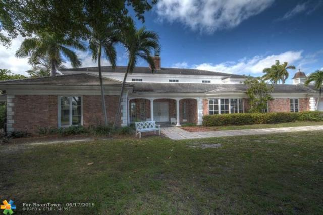 3001 NE 27th Ave, Lighthouse Point, FL 33064 (MLS #F10181163) :: Green Realty Properties