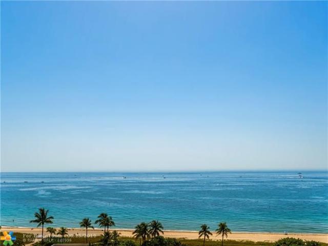 5100 N Ocean Blvd #1218, Lauderdale By The Sea, FL 33308 (MLS #F10182202) :: Green Realty Properties