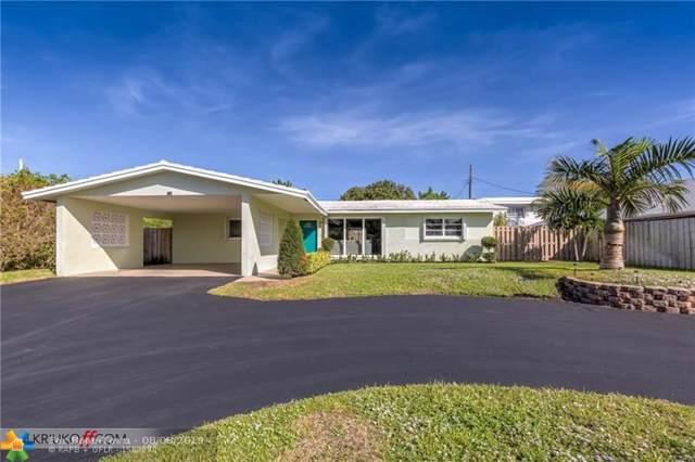 5610 NE 15th Ave, Fort Lauderdale, FL 33334 (MLS #F10182428) :: The O'Flaherty Team