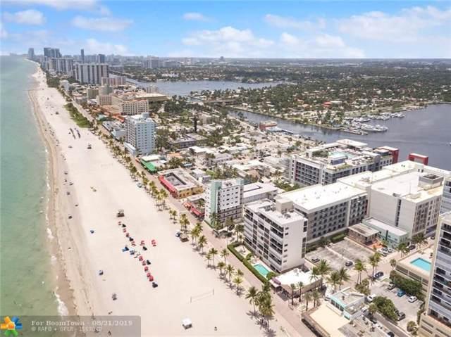 777 N Ocean Dr N406, Hollywood, FL 33019 (MLS #F10183529) :: Green Realty Properties