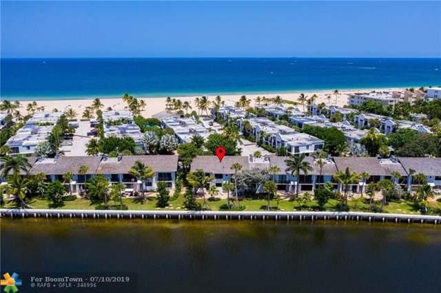 1601 S Ocean Ln 184-85, Fort Lauderdale, FL 33316 (MLS #F10183615) :: Green Realty Properties