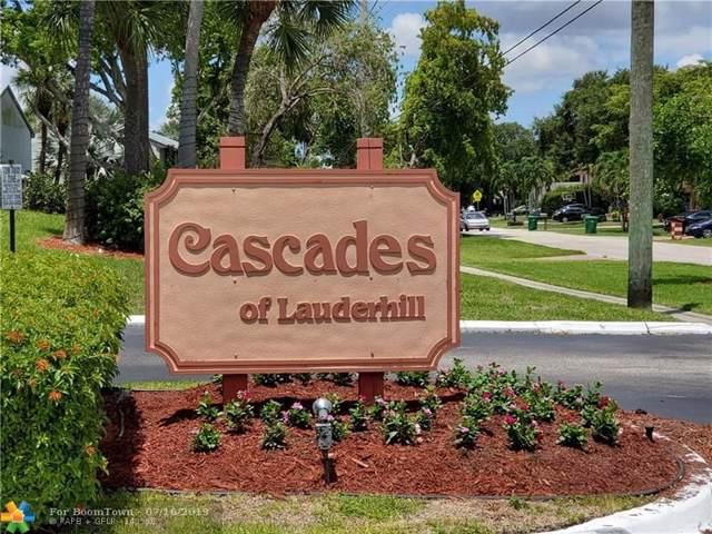 7980 NW 50th St #410, Lauderhill, FL 33351 (MLS #F10184370) :: Castelli Real Estate Services