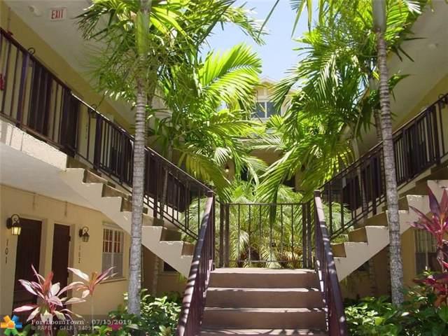 510 NE 17th Ave #107, Fort Lauderdale, FL 33301 (MLS #F10184763) :: Green Realty Properties