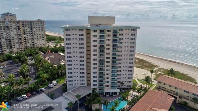 6000 N Ocean Blvd 12H, Lauderdale By The Sea, FL 33308 (MLS #F10184806) :: The O'Flaherty Team