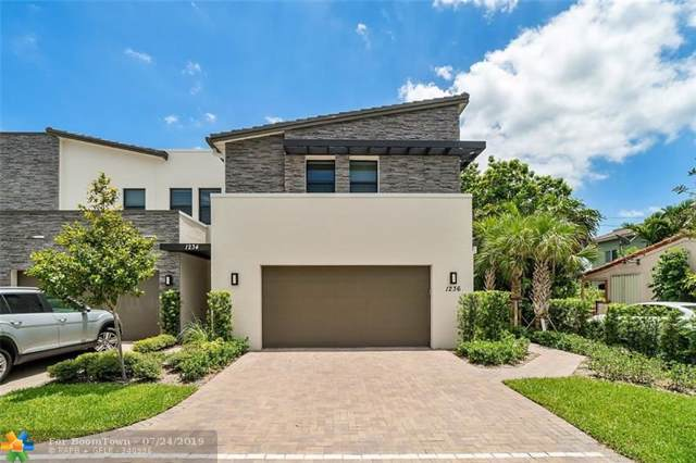 1236 SW 4th Ave #1, Fort Lauderdale, FL 33315 (MLS #F10186073) :: GK Realty Group LLC