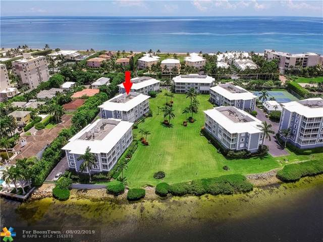 2150 S Ocean Boulevard 2A, Delray Beach, FL 33483 (MLS #F10187640) :: Berkshire Hathaway HomeServices EWM Realty