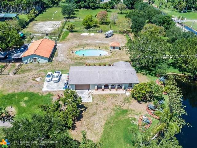12701 Mustang Trail, Southwest Ranches, FL 33330 (MLS #F10188727) :: Green Realty Properties