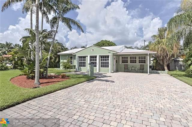 1421 NE 16th Ave, Fort Lauderdale, FL 33304 (MLS #F10190090) :: The O'Flaherty Team