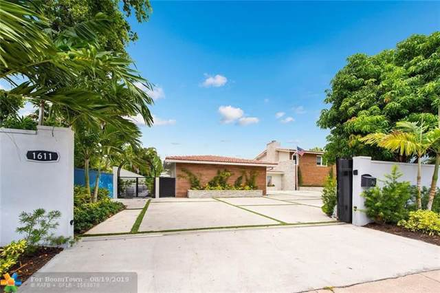 1611 Seabreeze Blvd, Fort Lauderdale, FL 33316 (MLS #F10190326) :: Berkshire Hathaway HomeServices EWM Realty