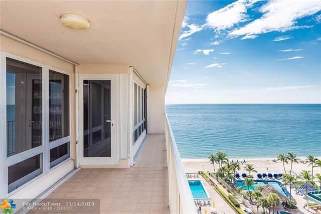 4100 Galt Ocean Dr #1106, Fort Lauderdale, FL 33308 (#F10190382) :: Posh Properties