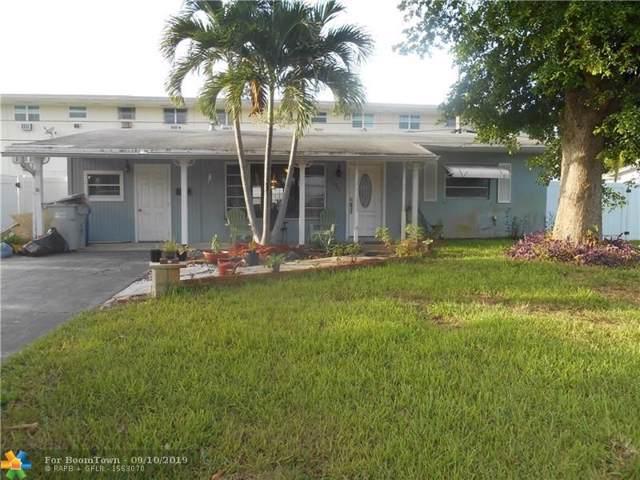 1341 NE 35th St, Pompano Beach, FL 33064 (MLS #F10190392) :: Laurie Finkelstein Reader Team
