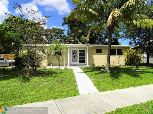 243 NE 40th St, Pompano Beach, FL 33064 (MLS #F10190693) :: Boca Lake Realty
