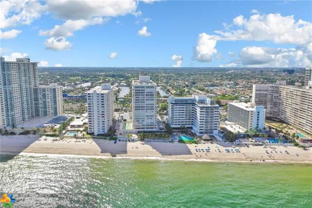 4020 Galt Ocean Dr #1105, Fort Lauderdale, FL 33308 (MLS #F10192937) :: The O'Flaherty Team