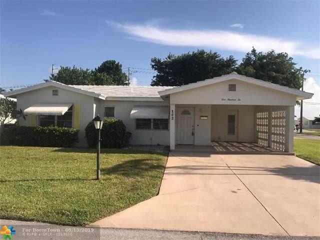 102 NW 8th Pl, Boynton Beach, FL 33426 (MLS #F10193697) :: Laurie Finkelstein Reader Team